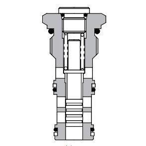 Eaton Vickers 1SB10 Screw-in Brake Sequence Cartridge Valve